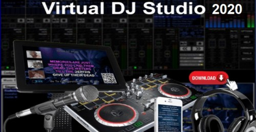 Virtual DJ Studio 8.1.0 Crack + License Key [Latest Version]