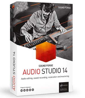 MAGIX Sound Forge Audio Studio 14 Crack + Serial Number