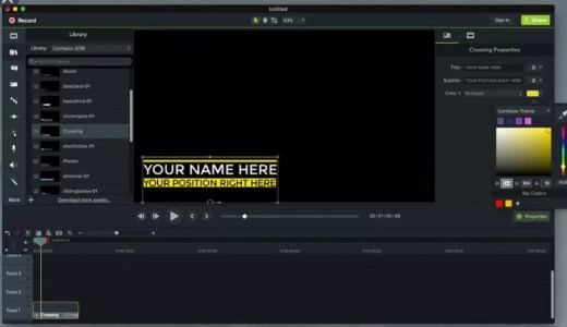 Camtasia Studio 2019.0.9 Crack Serial KEY Full [2020]