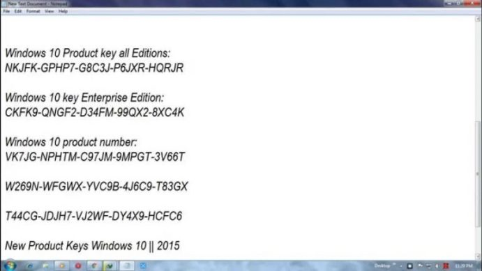 windows 10 product key 2021