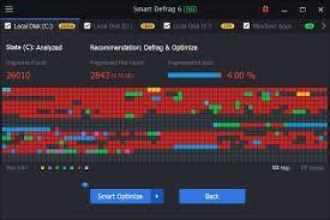 Smart Defrag 6.2.5 Build 128 Crack