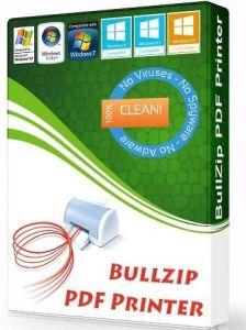 BullZip PDF Printer Crack With Serial Key Download Free