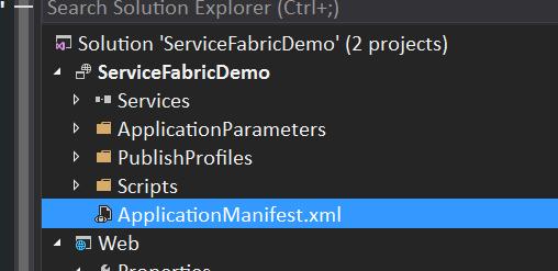 Application Manifest