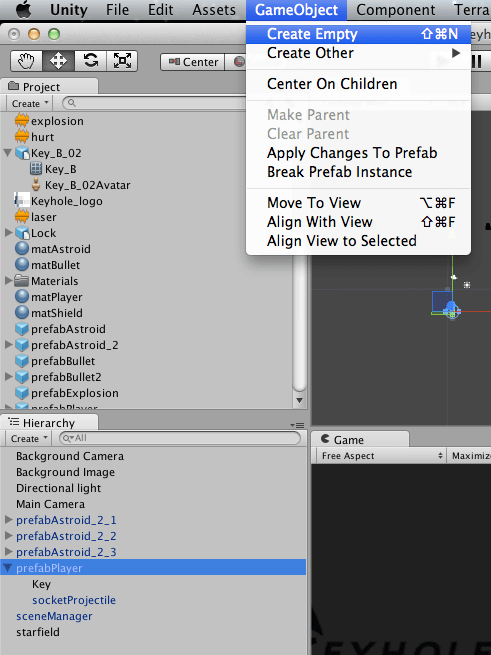 Writing Games With Unity 3D in JavaScript and C# – Part 1   Keyhole
