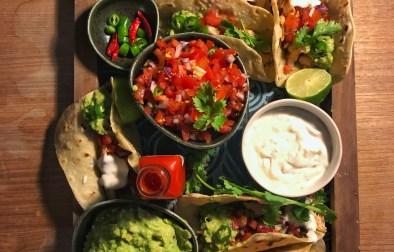 Izgara Tavuk Taco Nasıl Yapılır,Tarifi?