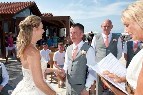 "On Corfu, ""I do!"""