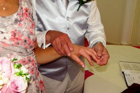 Exchanging their rings