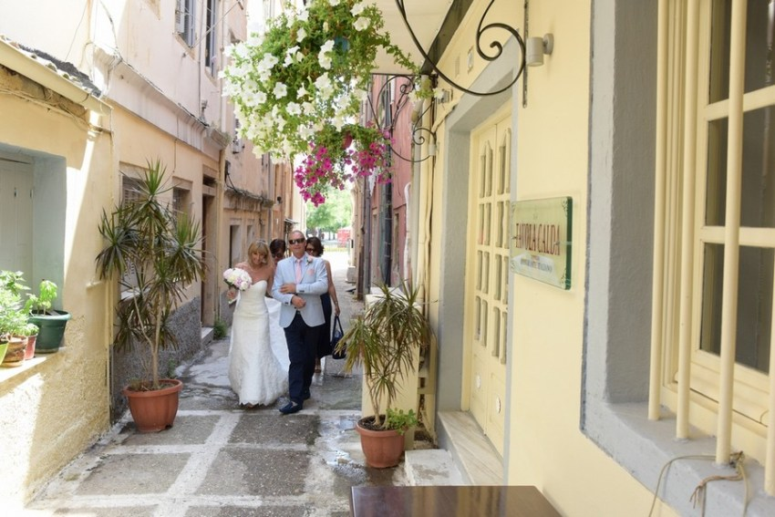 A romantic journey in Corfu Old Town
