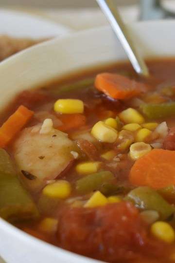 delicious no meat weekend stew