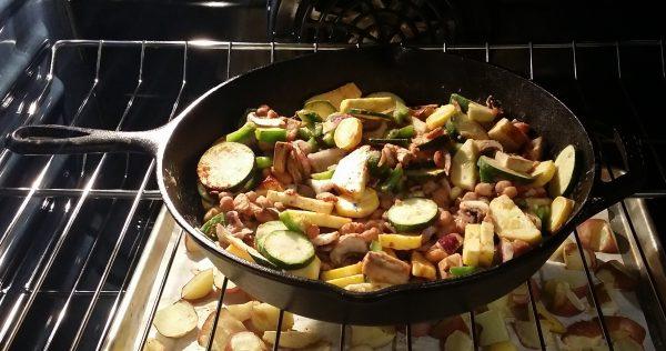 vegan oven breakfast hash