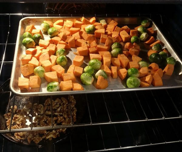 maple roasted fall vegetables