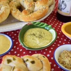 mustard dips for pretzels