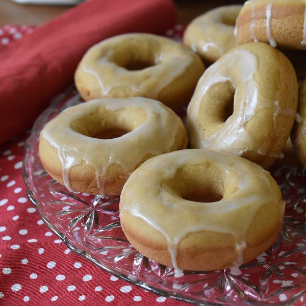 basic vegan baked donuts
