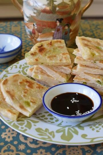 easy basic scallion pancakes