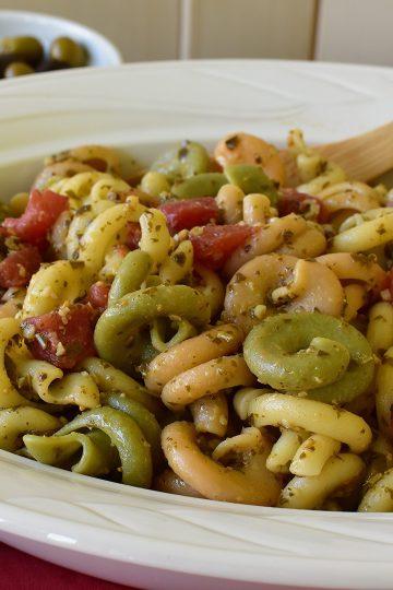 pesto tomato trottole pasta