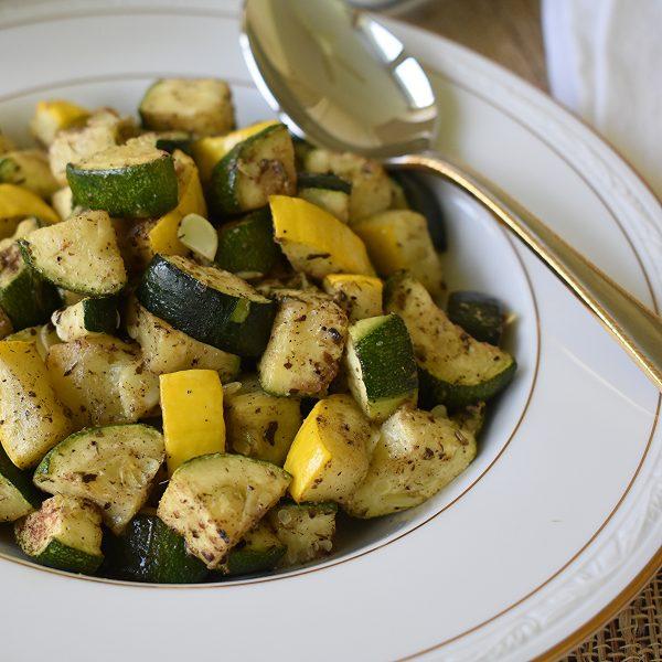 greek zucchini & yellow squash