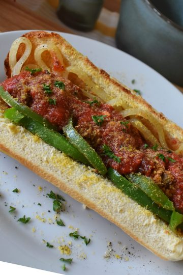leftover vegan meatloaf sandwiches