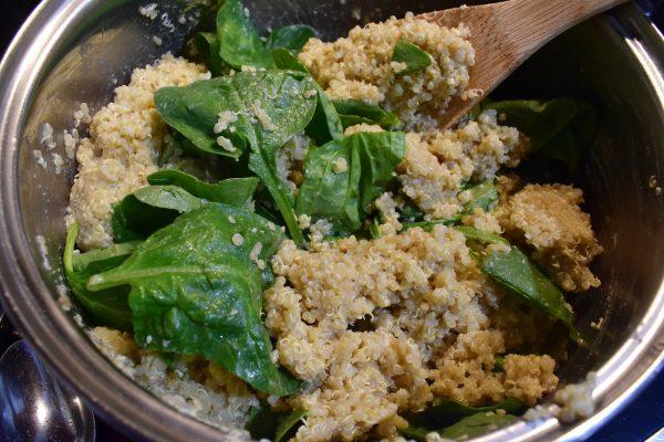 quinoa stuffed portobello mushrooms portabella