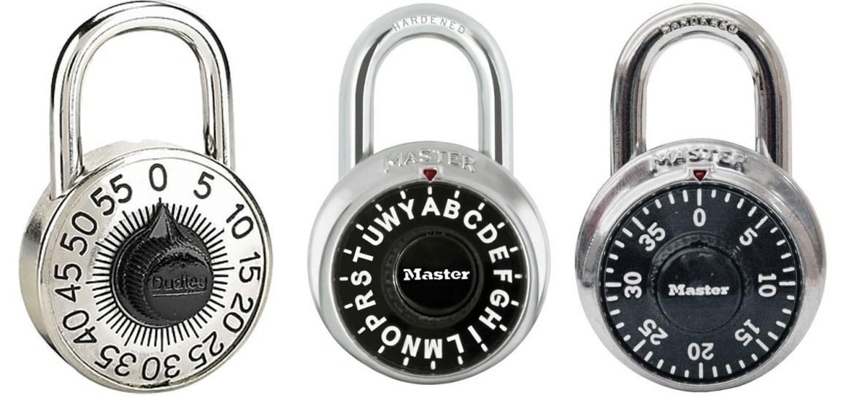 Escape Room Combo Locks