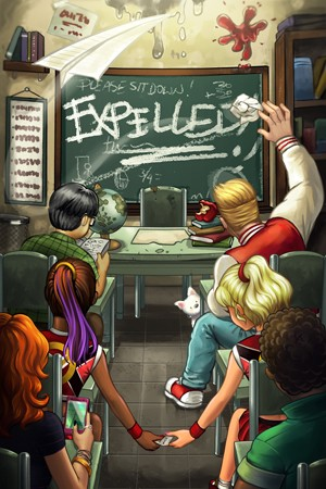 Expelled Escape Room in Hamilton Ontario Poster