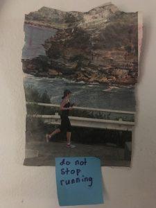 do not stop running