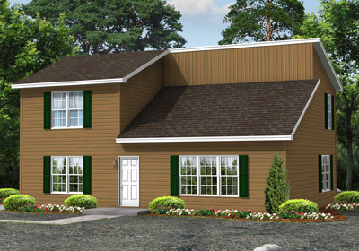 Two Story Floor Plans   Key Modular Homes Aspen II Floor Plan