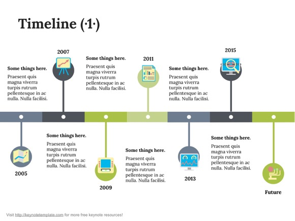 Perfect Keynote Timeline Template 1 Keynote Timeline Template 2 ... Great Pictures