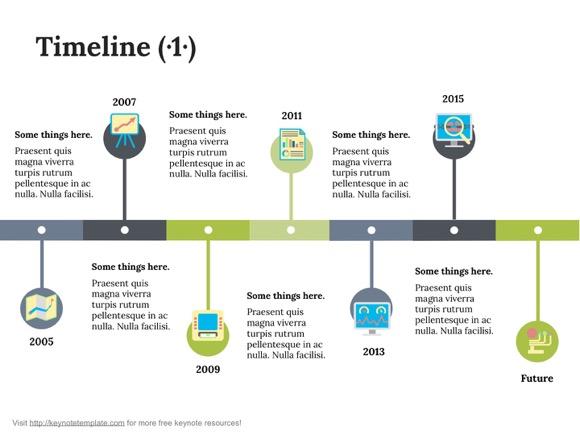 Keynote Timeline Template 1 Keynote Timeline Template 2 ...