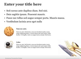 Restaurant Keynote Theme - Slide 7