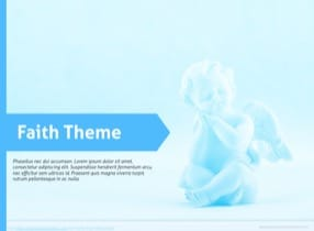 Faith Keynote Theme - Slide 1
