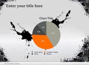 Floral Grunge Keynote Template - Slide 7