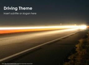 Drive Keynote Template - Slide 1