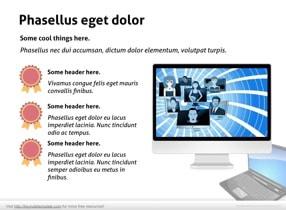 Notebook PC Keynote Template - Slide 12