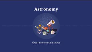 Astronomy Keynote Template