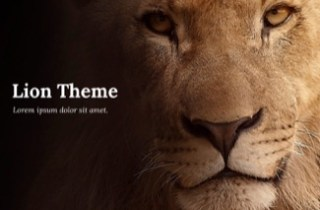 Lion Keynote Template