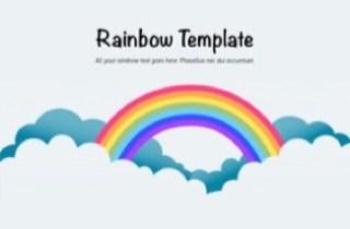 Rainbow Keynote Template