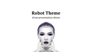 Robot Keynote Template