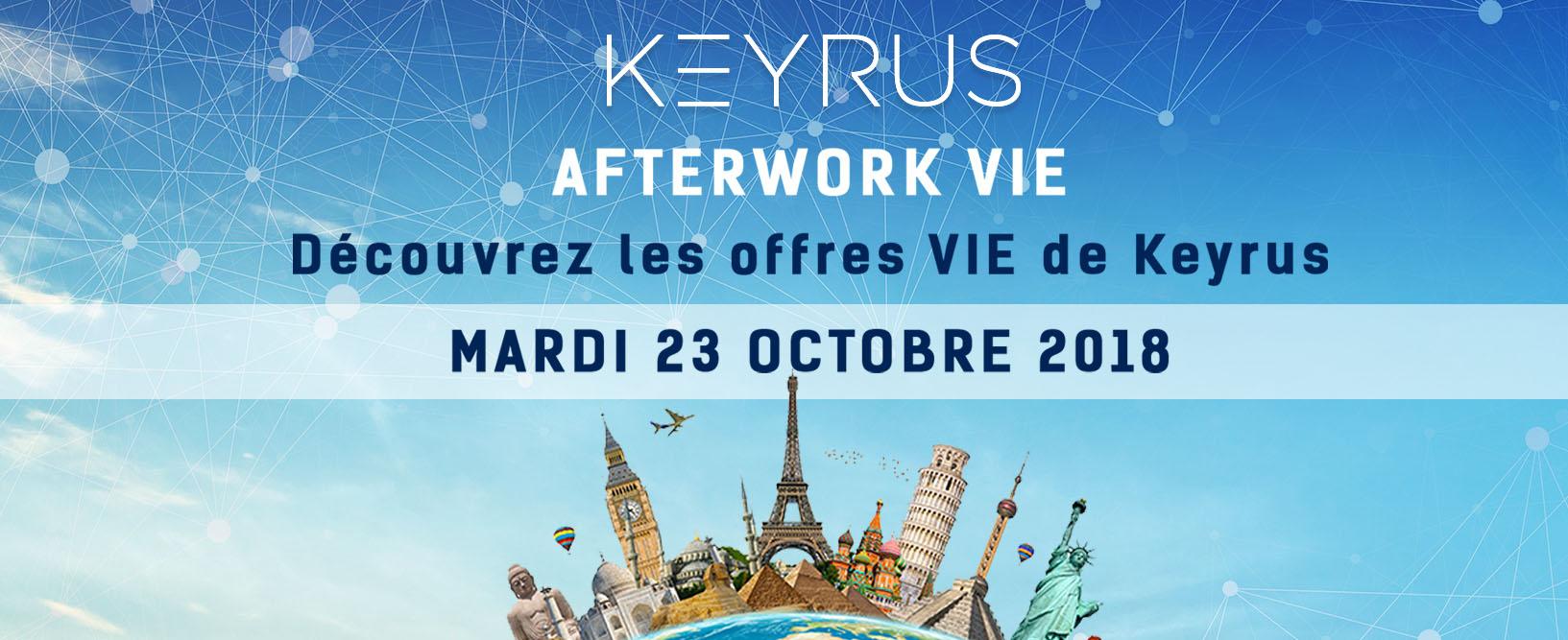 avec la participation de business france le groupe keyrus organise un afterwork v i e volontariat international en entreprise mardi 23 octobre 2018 a