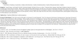 Mites in Soil - Lucid key fact sheet example