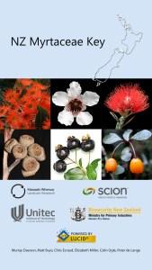 NZ Myrtaceae Lucid App splash screen