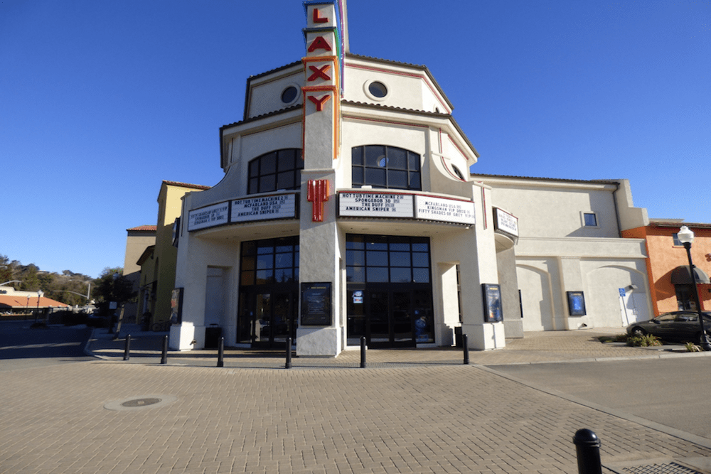 The Galaxy theatre offers beer, wine and reclining seats. Perfect for a date night