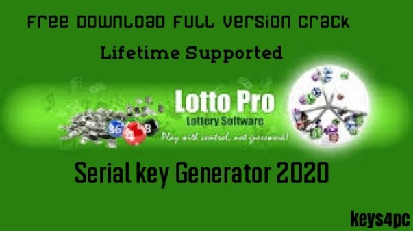 Lotto Pro 8.78 Crack With Latest Serial Key 100% Working