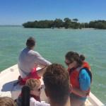 Keys boat tours Family on boat