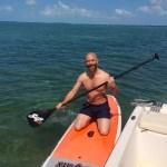 Paddle board Keys Boat Tours