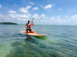 SUP backcountry mangrove tour