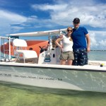 couples boating with Keys Boat Tours