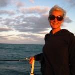 Allison Culbertson sailing
