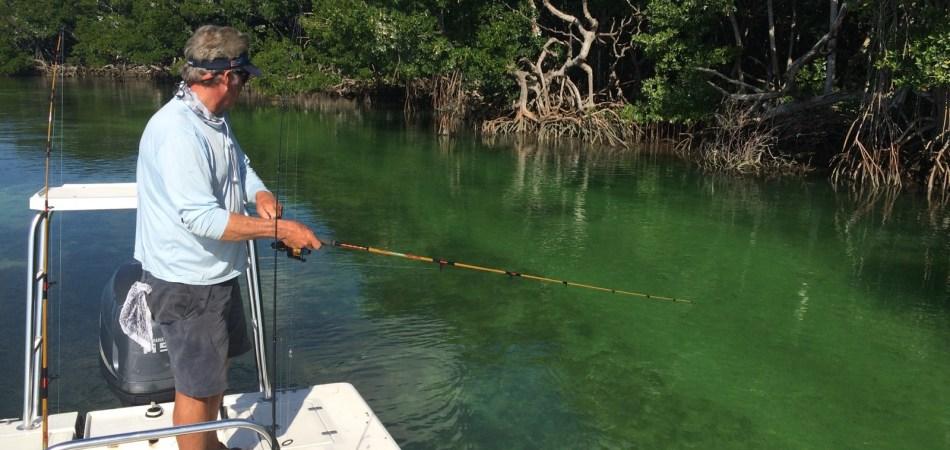 fishing fl keys Captain Brian Branigan