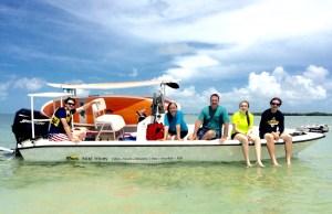 Family portrait Keys Boat Tours
