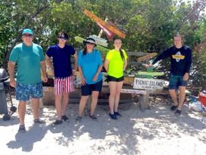 Keys Boat Tours picnic island